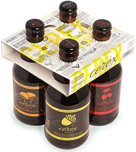CEREX - Pack Degustación de 4 Cervezas Artesanas - Cerveza de ...