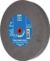 """PFERD 61784 Bench Grinding Wheel, Aluminum Oxide, 14"""" Diameter, 2"""" Thick, 1-1/2"""" Arbor Hole, 60 Grit, 1800 Maximum rpm"""