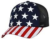 5 panel hat stars - TOP HEADWEAR 5 Panel USA Foam Trucker Cap