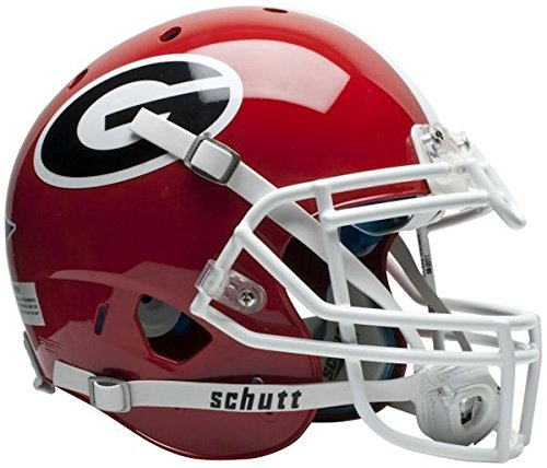 NCAA Georgia Bulldogs Authentic XP Football (Bulldog Helmet)