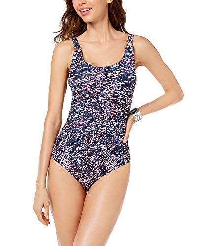 Calvin Klein Starry Night One-Piece Swimsuit Multicolor (8) Calvin Klein Womens Swimwear