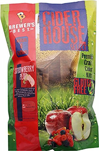 (Home Brew Ohio Gluten Free Cider House Select Strawberry Pear Cider Kit)