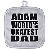 Best Adams Cheap Tables - Dad Pot Holder Adam World's Okayest Dad Review