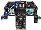 F16 Falcon cockpit Instrument Panel CDkit