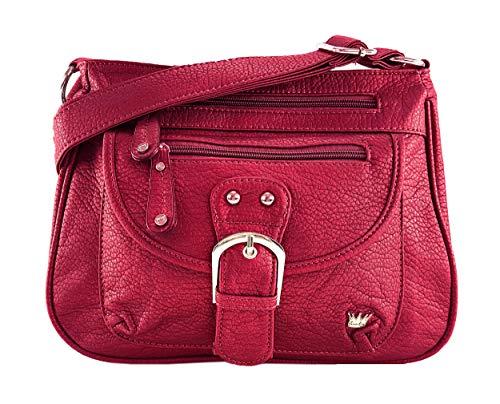 Purse King Pistol Concealed Carry Handbag (Candy Apple -