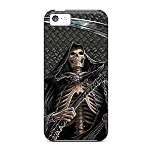 Iphone 5c Case Bumper Tpu Skin Cover For Grim Reaper Accessories