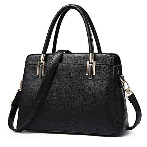 Sac Sac Messenger Bandoulière Noir à RUIREN Fashion Portable wq4887