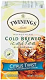 Image of Twinings Cold Brew Tea, Citrus Twist, 20 Count Bagged Tea (6 Pack)