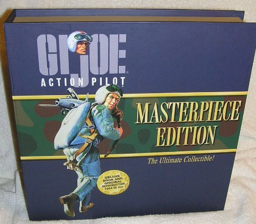(G.I. Joe Action Pilot Masterpiece Edition 1964 Reproduction with Brunette Hair)
