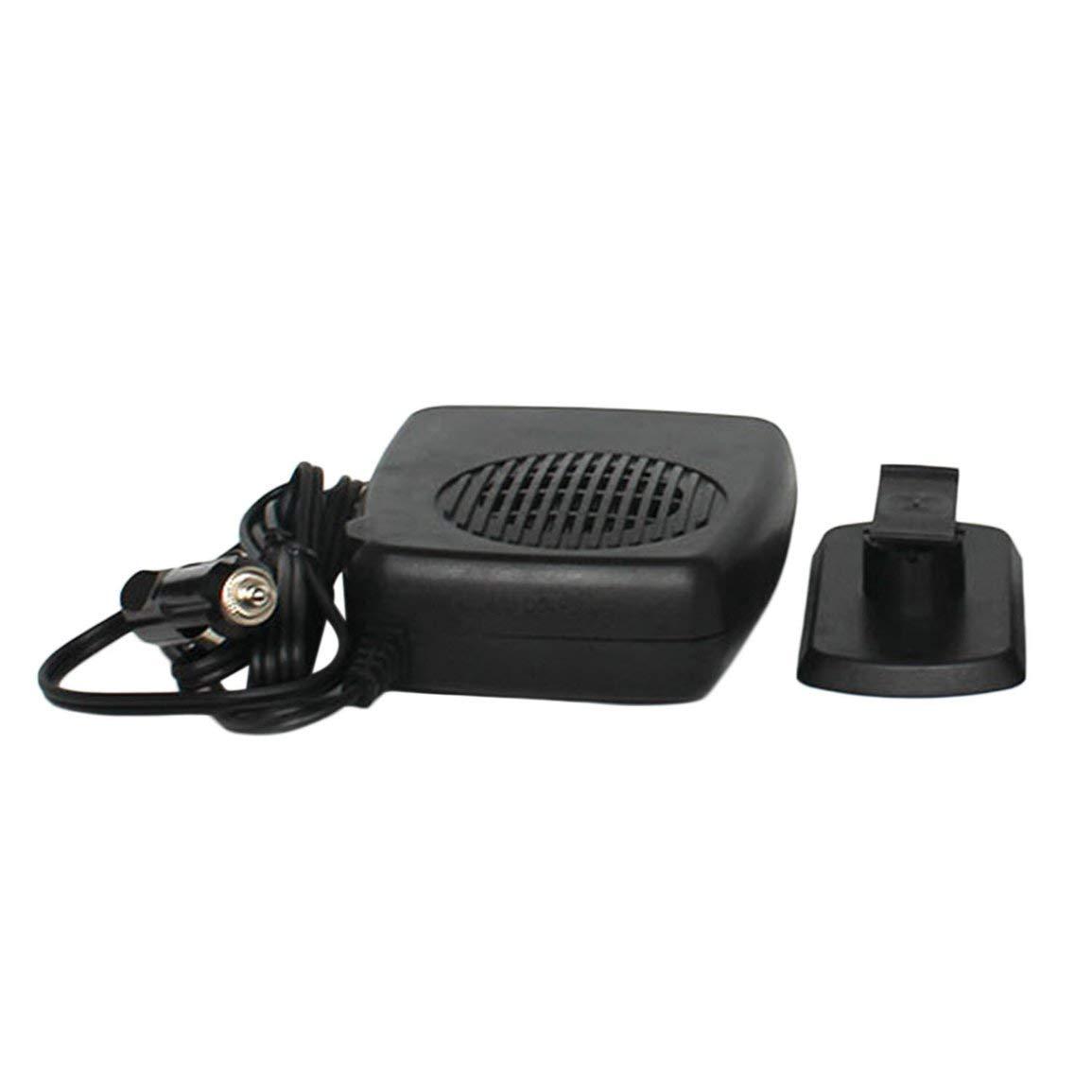 2-En-1 12V 150W Auto Calentador Del Coche Del Ventilador De Calefacci/ón Port/átil Con Asa Abatible Hacia Afuera