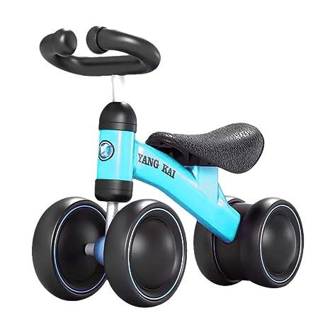 Andador con ruedas para niños y niñas, con balancín, para ...