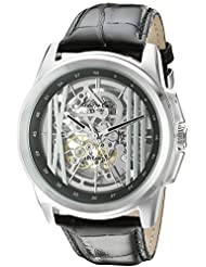 Kenneth Cole New York Mens KC8100 Automatic Analog Display Automatic Self Wind Black Watch