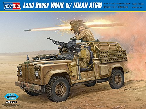 Review Hobby Boss Land Rover