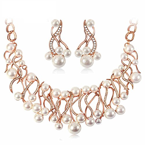 IUHA Pearl Necklace Elegant Jewelry/Gift /Fade Resistant/Hypoallergenic by IUHA (Image #7)