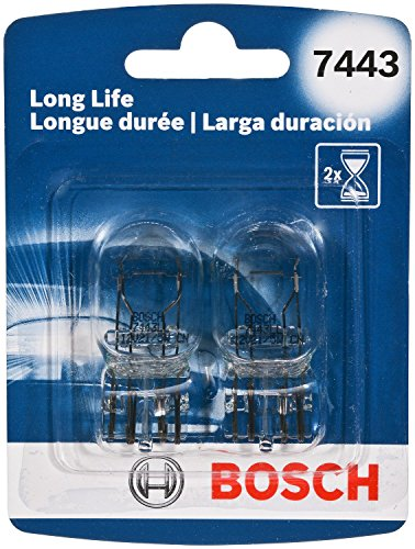 (Bosch Automotive 7443LL 7443 Light Bulb, 2 Pack)