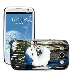 Hot Style Cell Phone PC Hard Case Cover // M00108744 Swan Bird Water Pond Swim Beautiful // Samsung Galaxy S3 S III SIII i9300