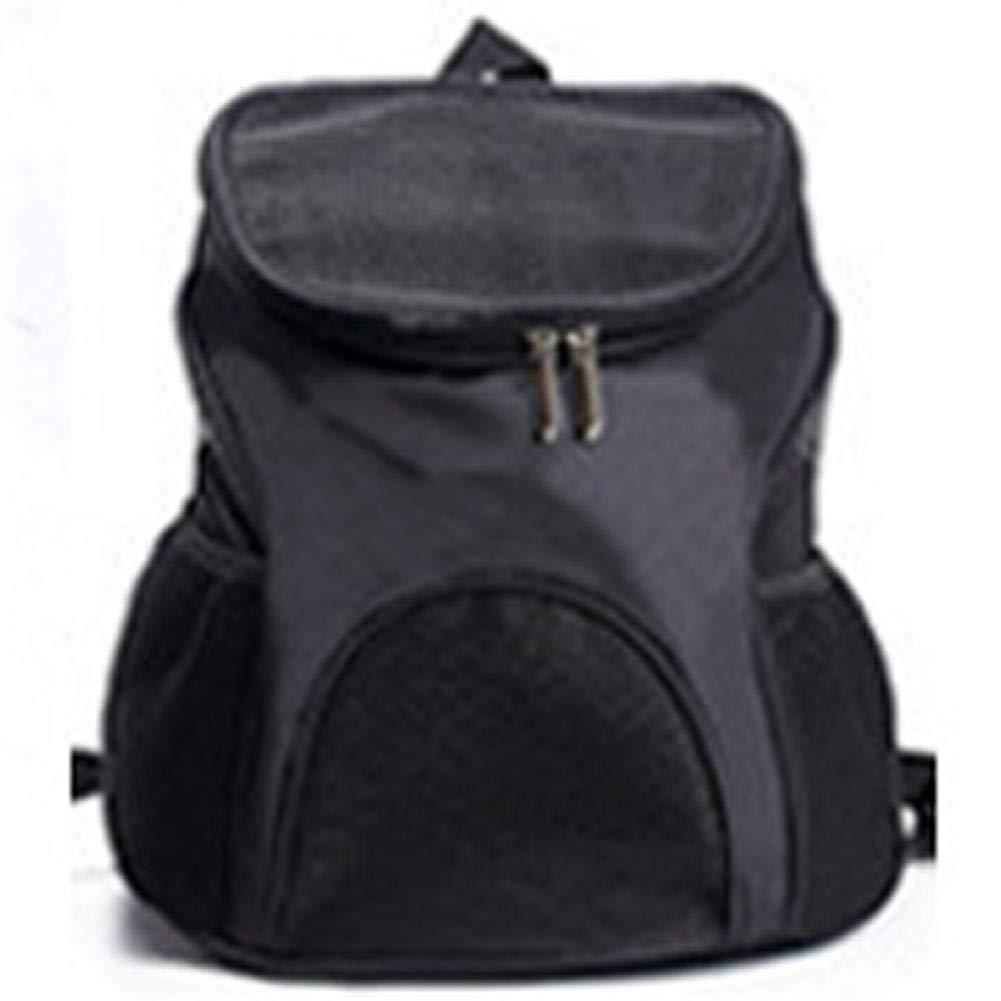 Black HAOJINFENG Dog Bag Breathable Front Chest Bag Pet Out Portable Backpack Multi-color Optional