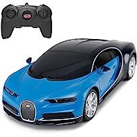 Bugatti Remote Control Car   RASTAR 1/24 RC Blue Bugatti Chiron Sports Racing Vehicle for Kids