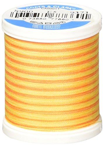 Coats Thread & Zippers Dual Duty XP General Purpose Thread, 125-Yard, Sunny - Sunnies Zipper Von