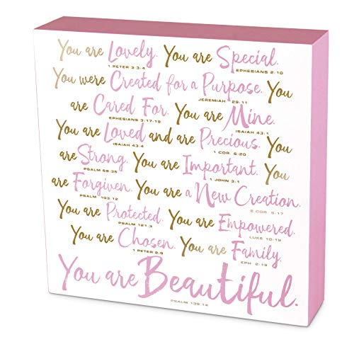 Lighthouse Christian Products Beautiful Plaque, Multicolor