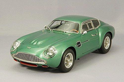 - š CMC (1/18) Aston Martin DB4 GT Zagato 61 metallic green (M132) minicar