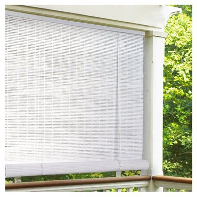 White Roll Up Blinds.Amazon Com Lewis Hyman 0320136 3 W X 6 L White 1 4 Oval