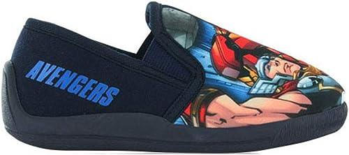 Children Flashing LED Shoes Spiderman Superman Soft Sole Print Slip On Boys Girl