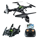 AKASO A200 Drone with Camera 720P FPV Drones Live Video 6-Axis Gyro 2.4GHz Altitude Hold Foldable Arms RC Drones for Kids Beginners Adults