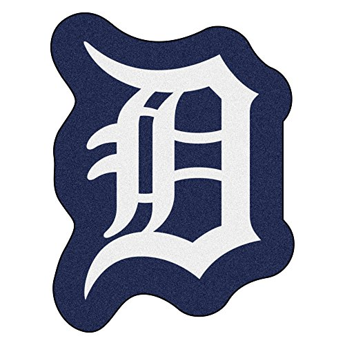 - FANMATS MLB Detroit Tigers Mascot Mat, Team Color, One Size