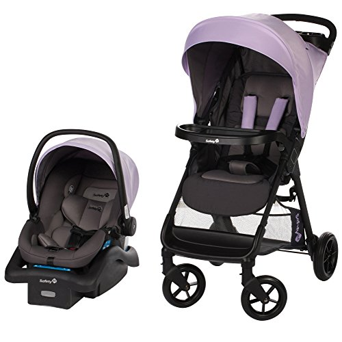 Safety 1st Smooth Ride Travel System with onBoard 35 Infant Car Seat, Wisteria (Stroller Girl)