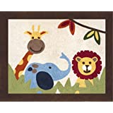 Jungle Time Accent Floor Rug by Sweet Jojo Designs