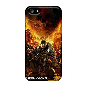 ChanceTom Case Cover For Iphone 5/5s - Retailer Packaging Gears Of War Game Protective Case