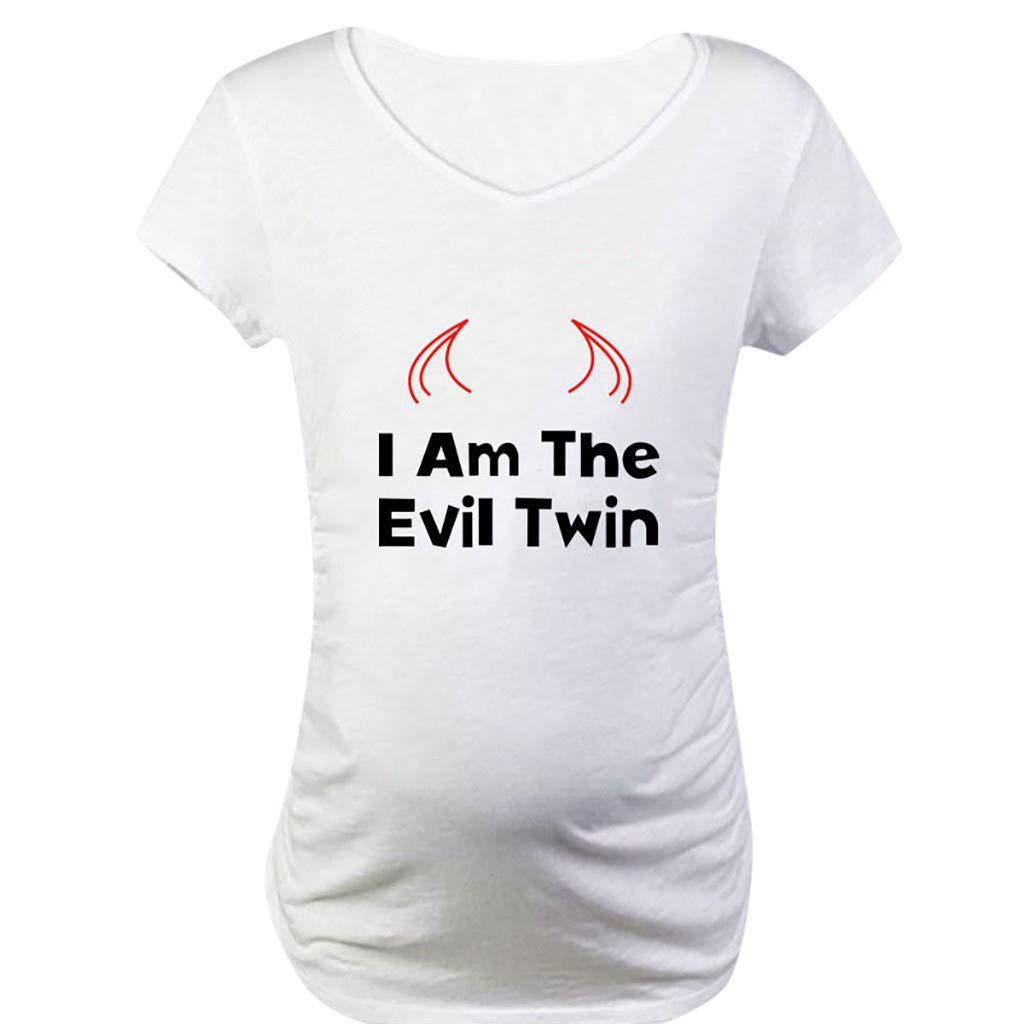 Coole Schwangerschaftsmode mit Aufdruck Stilltop Schwangerschaft Mama Kleidung Allence Witzige lustige Umstandsmode T Shirt by Sweet Little Baby Loading Babyf/ü/ße