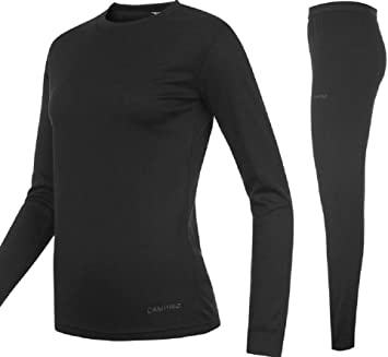 King Fisher Sports Base Layer térmica Top & Pantalones Junior, unisex de niños, color negro: Amazon.es: Deportes y aire libre
