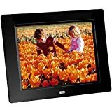 "Braun 21163 Digiframe 80 - Marco digital de 8 "" 800 x 600, - color negro"