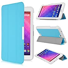 Acer Iconia One 7 B1-780 case, KuGi ® Acer Iconia One 7 B1-780 case - High quality ultra-thin Smart Cover Case for Acer Iconia One 7 B1-780 Tablet (Blue)