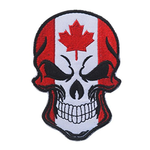 LiPing World Cup 2018 Theme -Flag Patch Tactical Military Morale Patch Flag Magic Stickers Badge Decoration Tactical Military Morale Patch Set (A, Canada) (Mould Furniture Outdoor Removal)