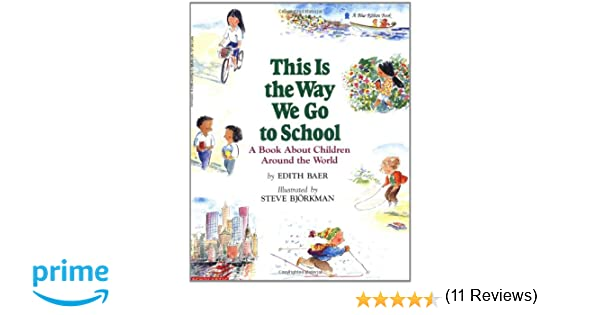 Workbook christmas kids worksheets : This Is the Way We Go to School: A Book About Children Around the ...