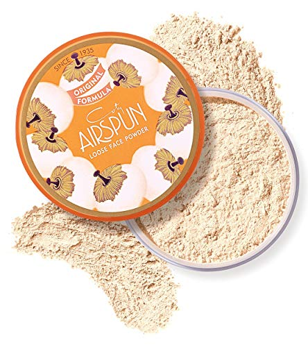 Coty Airspun Face Powder, Naturally Neutral, 2.3 oz, Natural Tone Loose Face Powder, for Setting Makeup or Foundation, Lightweight, Long -