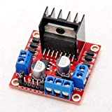 Dual H Bridge DC Stepper Motor Controller L298N Module for Arduino/Due and Raspberry Pi
