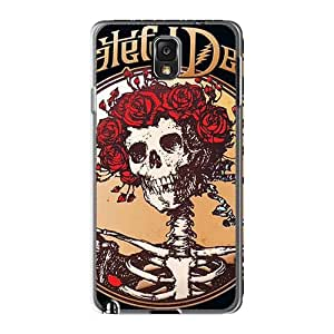 Protective Hard Phone Case For Samsung Galaxy Note3 With Provide Private Custom High-definition Grateful Dead Band Image AlainTanielian