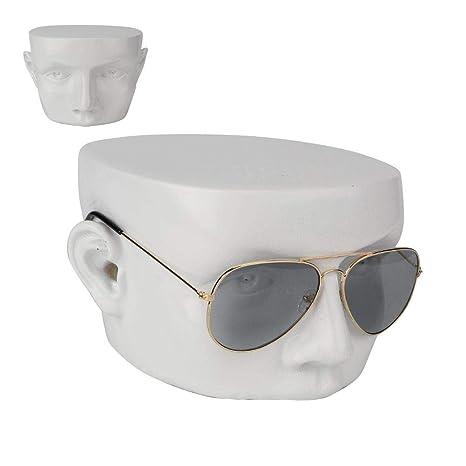 Soporte para Gafas de Sol, Cabeza Humana de Resina, Modelo ...