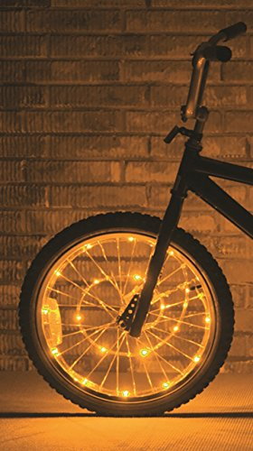 Brightz, Ltd. Gold Wheel Brightz LED Bicycle Light