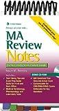 MA Review Notes: Exam Certification Pocket Guide (Exam Certification Pocket Guides) [Spiral-bound] [2009] (Author) Susan Perreira