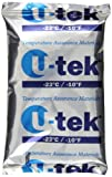 ThermoSafe U-tek 432 Phase Change Material Gel, -23°C Temperature, 6'' L x 4'' W x 0.75'' H (Case of 36)