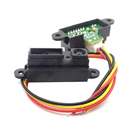rokoo Universal electrónico GP2Y0 A21YK0 F Sharp IR Sensor de distancia analógico Cable Compatible para Arduino