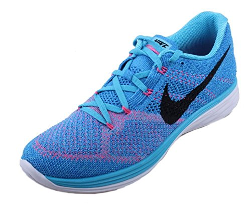 Compétition White de Femme Gamma Blue Nike Chaussures Pht Bleu Bl Black Running Lunar3 Flyknit Azul wXfXqt6Z