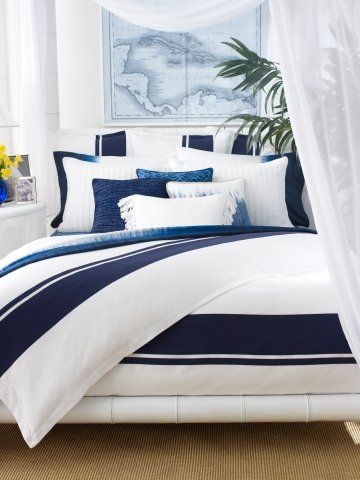 and blue bed navy accessory dark west arch classy comforter bedroom deaft home white bedding