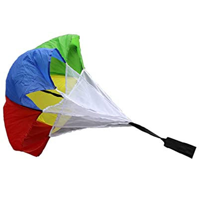 Resistance Parachute Creative Speed Training Chute Running Chute for Kids: Kitchen & Dining