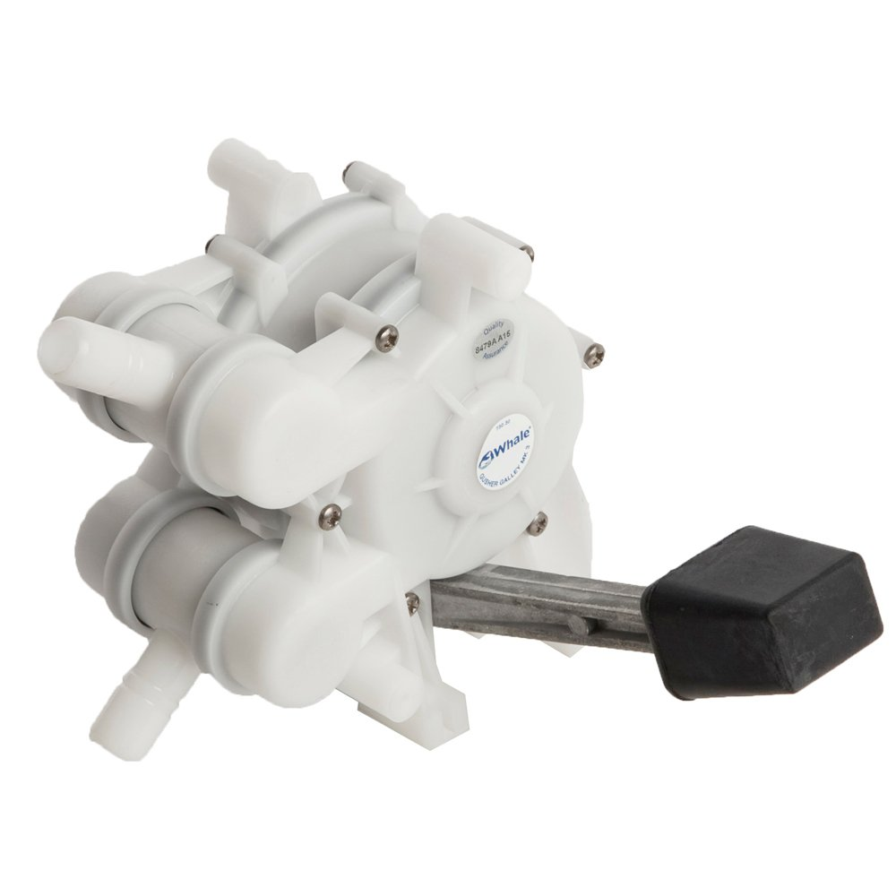 Whale Marine Whale Gusher Foot Operated Galley Pump Left Handed Lever GP0551